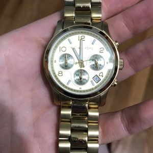 Gold Michael Kors watch. Lightly used condition